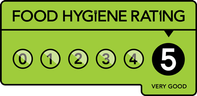 NP Catering have a 5 star food hygiene rating - 2020